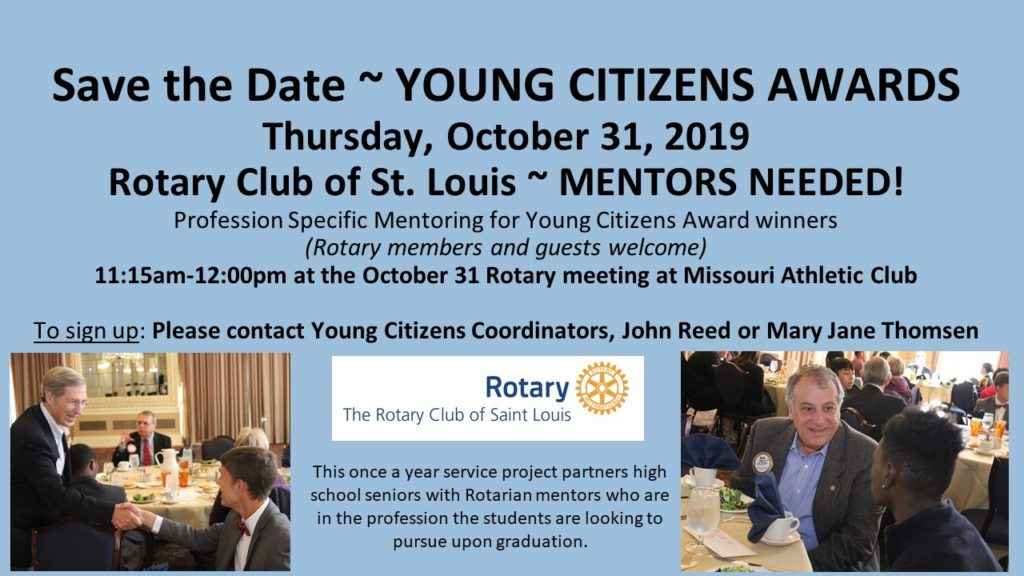 Save the Date - Young Citizens Awards