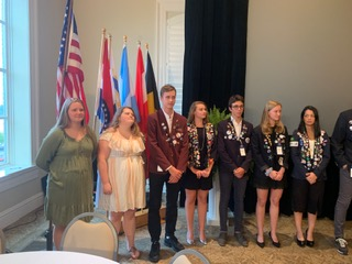 Rotary Youth Exchange at District Conference 2019 Washington MO