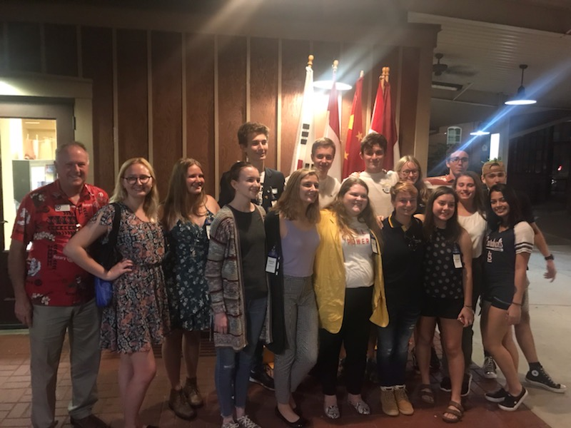 Rotary Youth Exchange - District 6060 2019 Conference in Washington MO