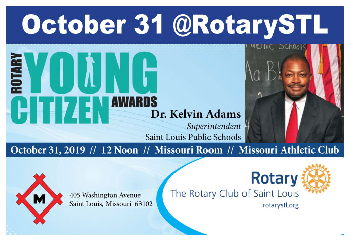 Young Citizens Awards October 31, 2019