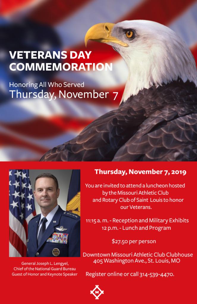 Veterans Day Commemoration 2019