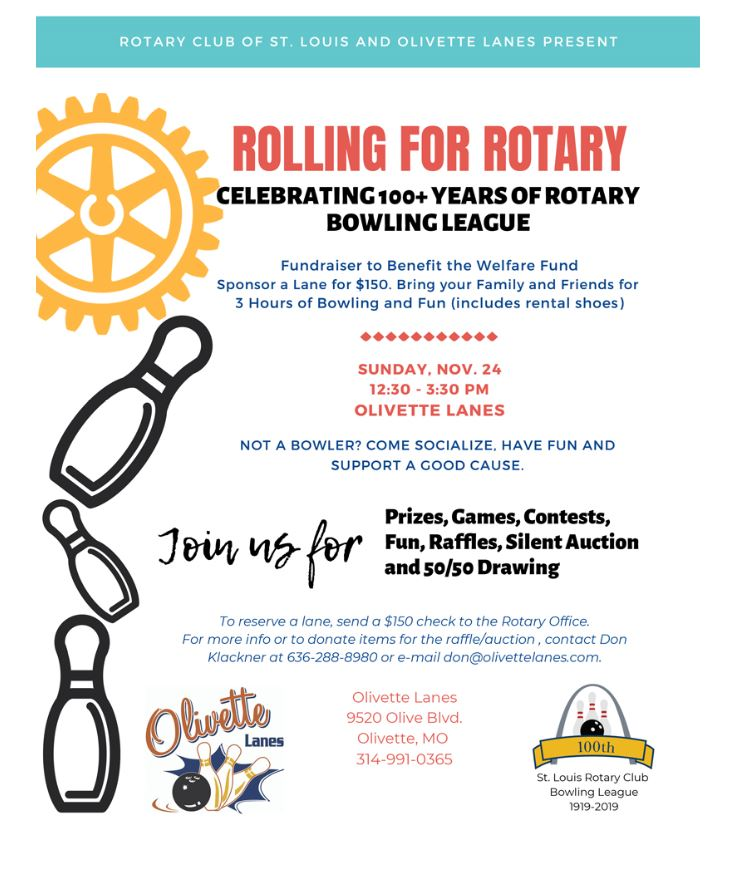 Rolling for Rotary 2019
