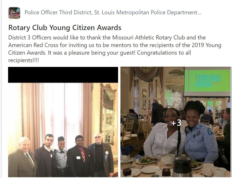 3rd District participation in 2019 Young Citizens Award program