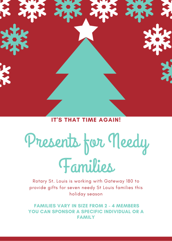 Gifts for Needy Families