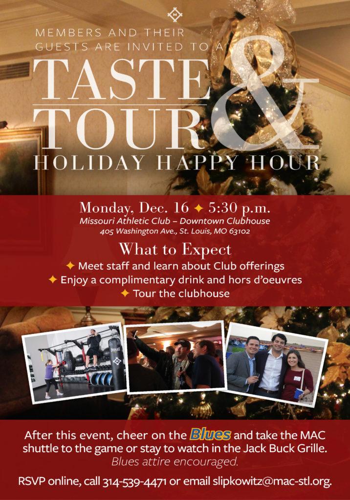 MAC Taste & Tour December 19