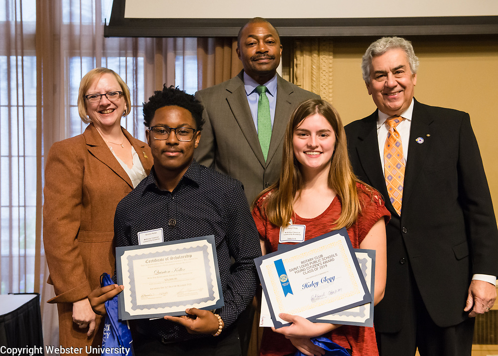 Young Citizens Awards 2019 St Louis Rotary