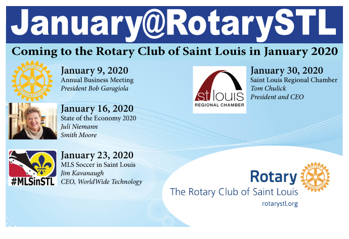 January 2020 Speakers at St Louis Rotary