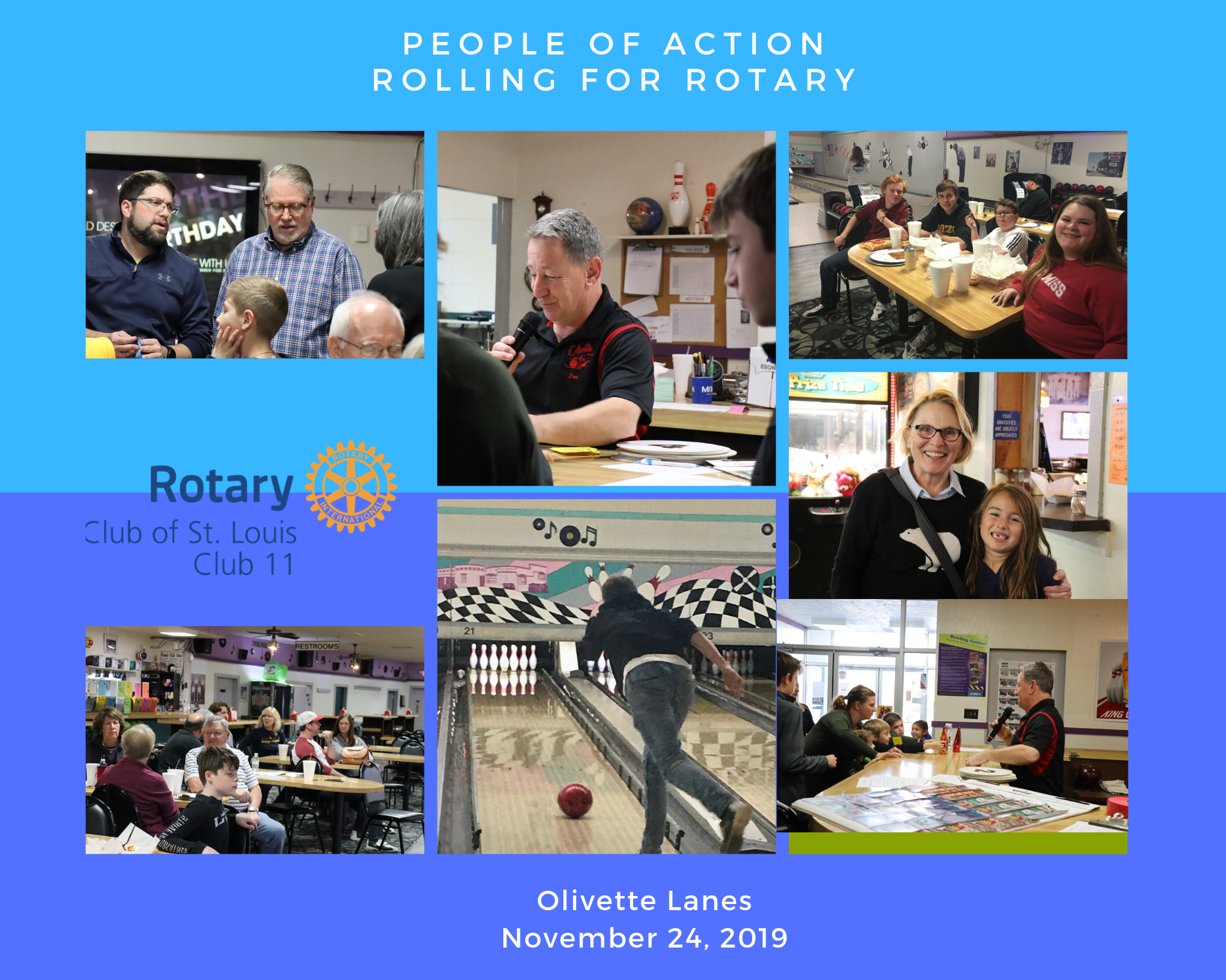 Rolling for Rotary Fundraiser 11-24-19 - A great success