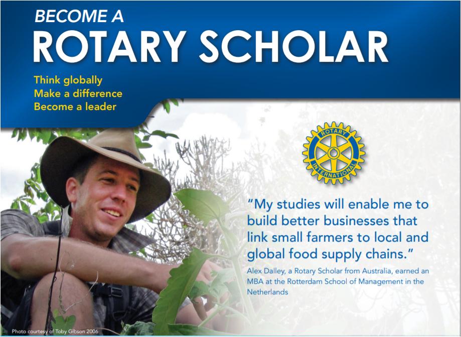 Rotary Ambassadorial Scholar