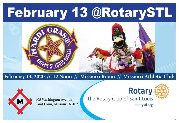 Mardi Gras Organization Program 2-13-20