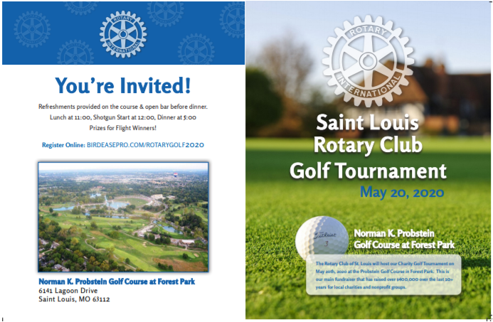 Golf Tournament May 20, 2020