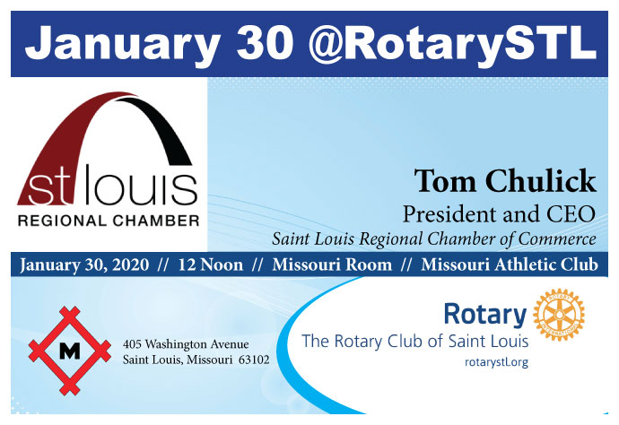 Tom Chulick-President & CEO, St Louis Regional Chamber 1-30-20