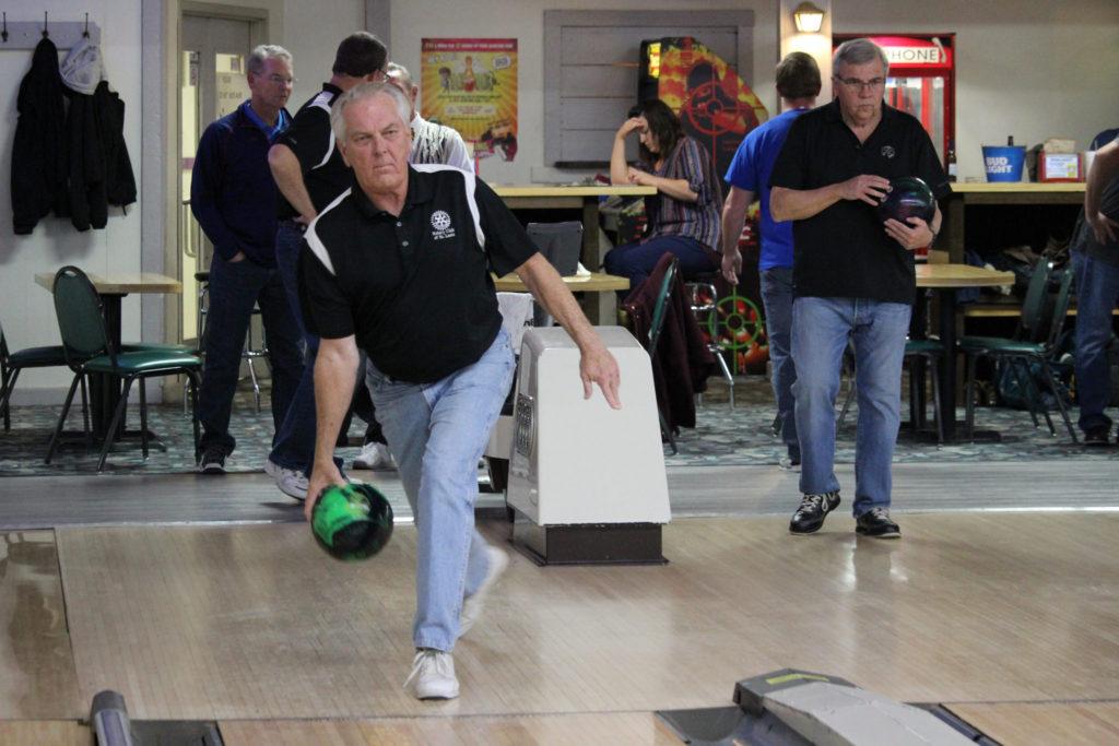 Steve LaFara at Olivette - Rotary Bowling League 2019-2020