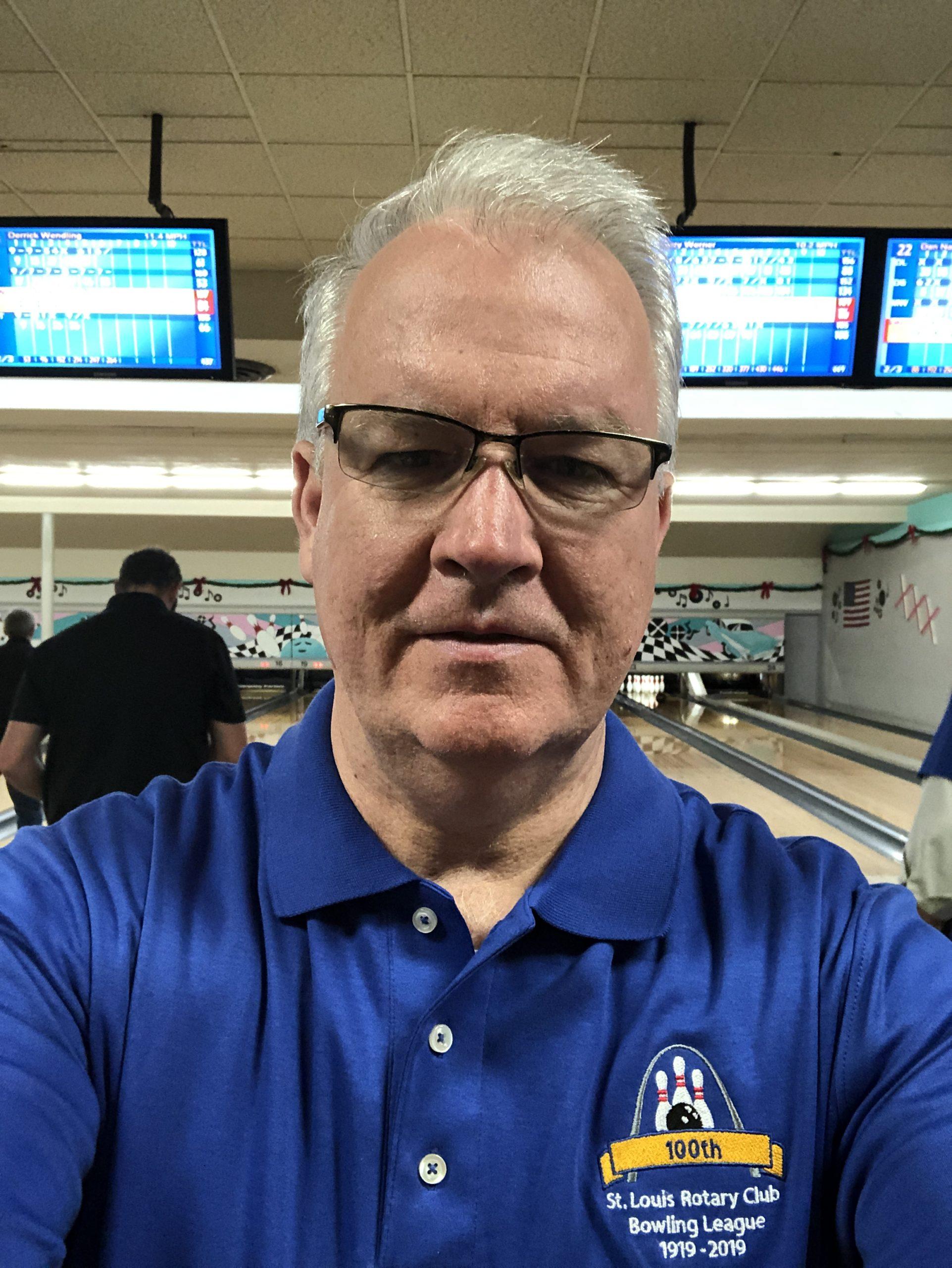 Ralph Decker, Bowling League President