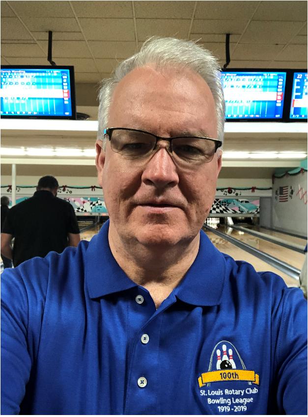 Ralph Decker, Pres Bowling Leagues StL Rotary 2019-2020