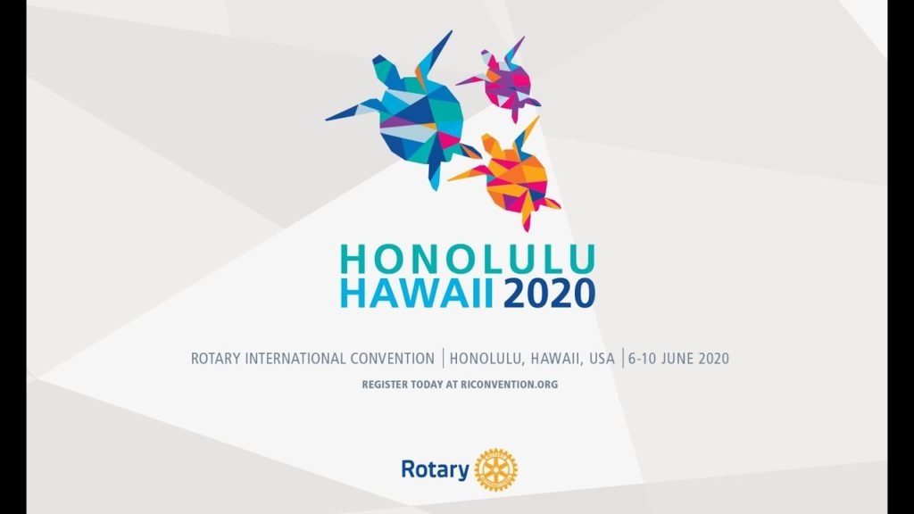 Rotary International Convention June 6-10, 2020