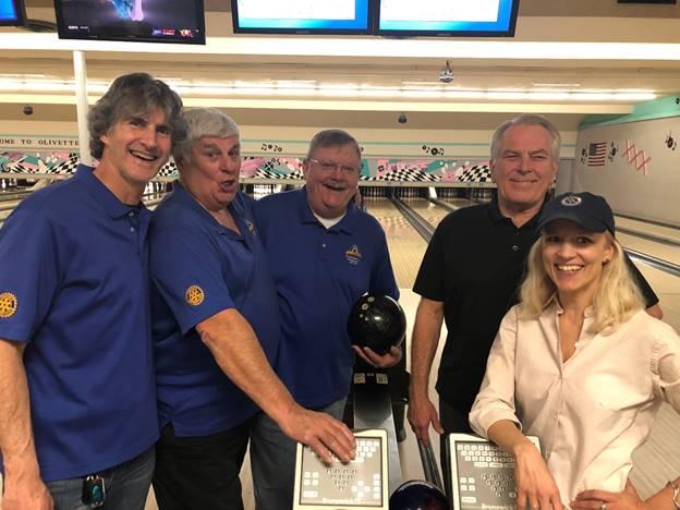 3rd quarter bowling champs 2020 - Team Lorenz
