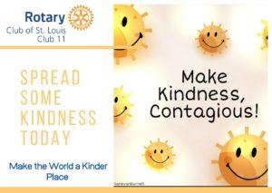 Make the world a kinder place