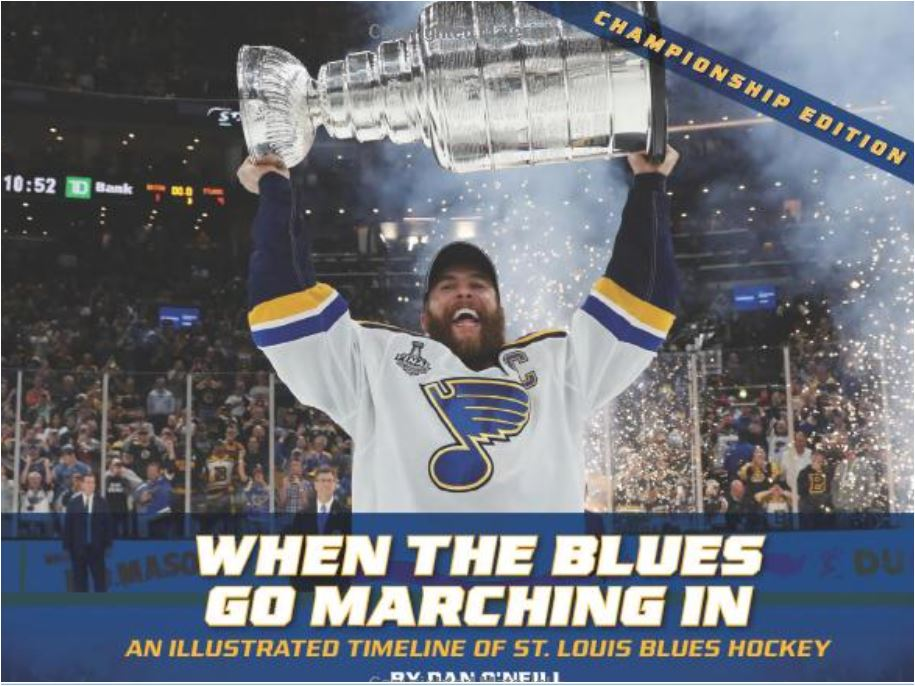 When the Blues Go Marching In by Dan O'Neill