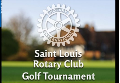 Saint Louis Rotary Golf Tournament Save the Date: 9-2-20
