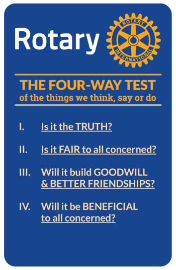 The Four Way Test