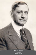 1920-1921 M.K. Deale