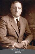 1928-1929 W.H. Wilcockson