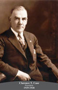1929-1930 Clarence T. Case