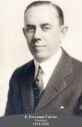 1931-1932 J. Freeman Culver