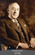 1937-1938 Fred W. Green