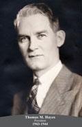 1943-1944 Thomas M. Hayes