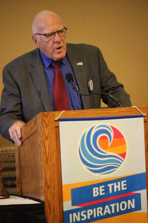 Phil Hesley 6-6-2019 Grants Awards at St. Louis Rotary Club