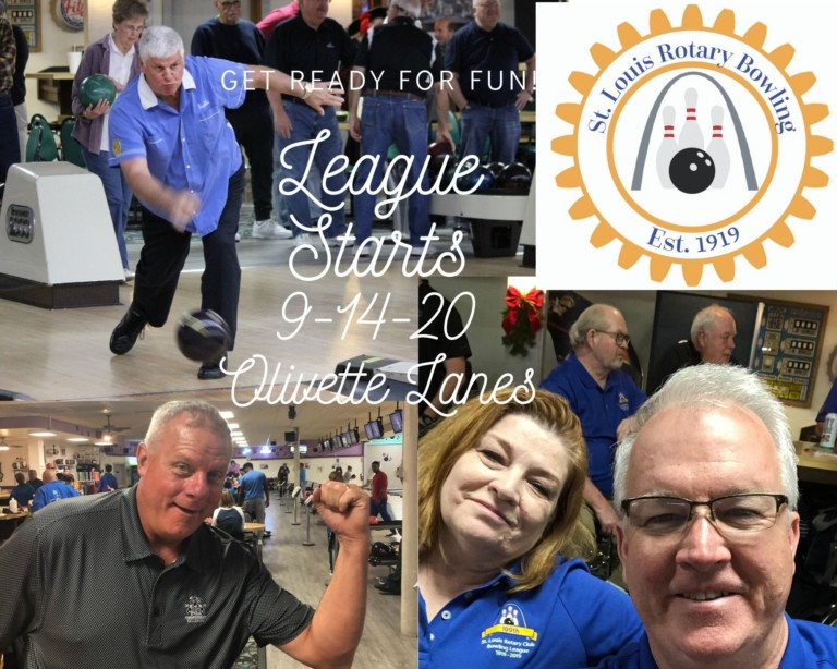 St Louis Rotary Bowling League Play Starts Sept 14 @ Olivette Lanes