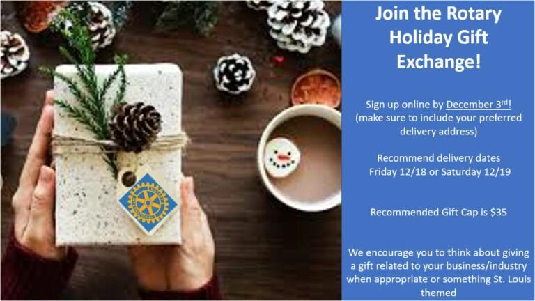 Club 11 Holiday Gift Exchange -