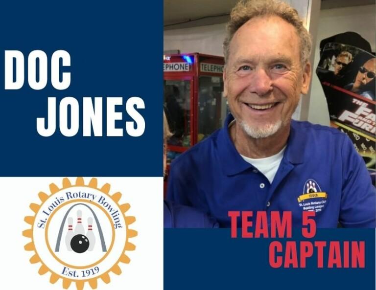 Captain Doc Jones - Team 5 2020-21 Season