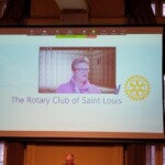 Juli Niemann on Zoom @ St Louis Rotary 1-14-21
