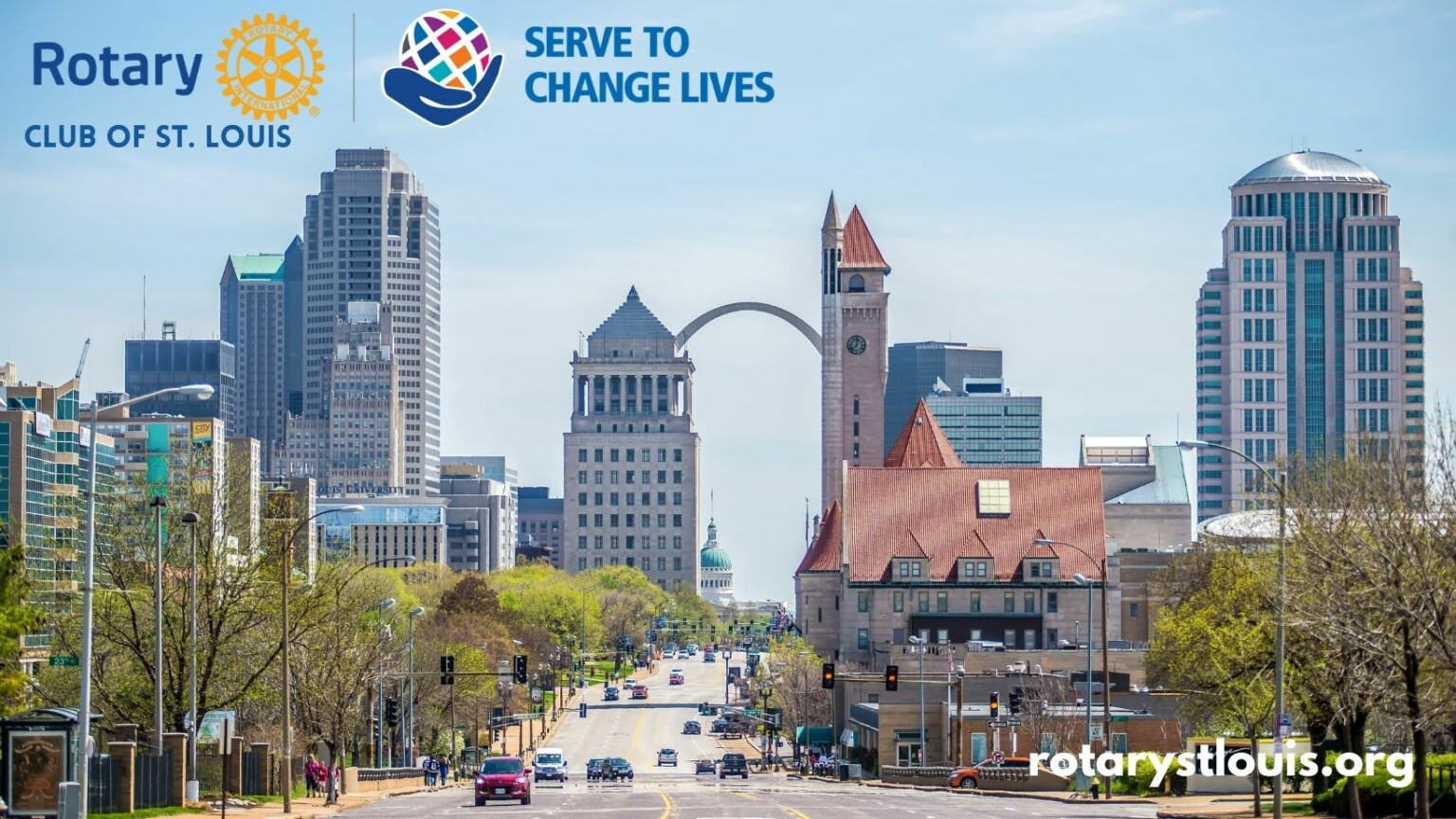 St Louis Rotary 2021-2022 Cover Logo