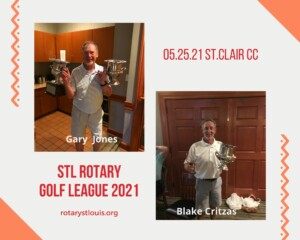 Golf outing to St. Clair CC on May 25, 2021