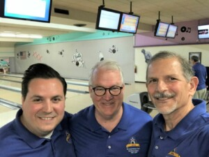 Team Maddox - Captain Matthew Maddox with team members Ralph Decker and Terry Werner