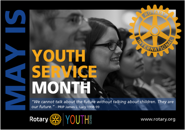 May is Youth Service Month - Rotary International
