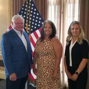 President Jack Windish, Tina and Amanda - from RideFinders