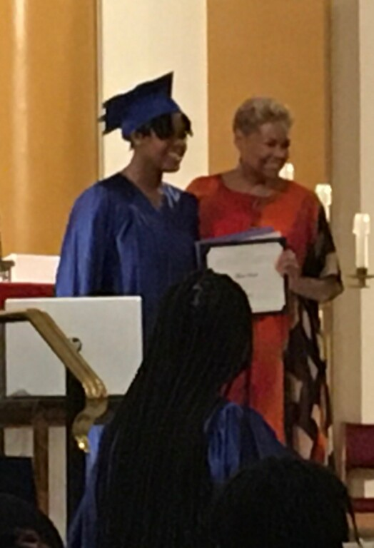 Maria Smith - Marian Middle School Graduation Ceremony on 5-28-21