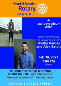 An approach to saving lives in Latin America - Rotary International Conversation 2-10-21