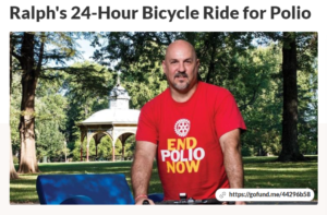 24 Hour Bike Ride - End Polio Now