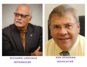 Richard Losciale, Invocator & Ken Schuman, Invocator 6-10-21 @ St Louis Rotary