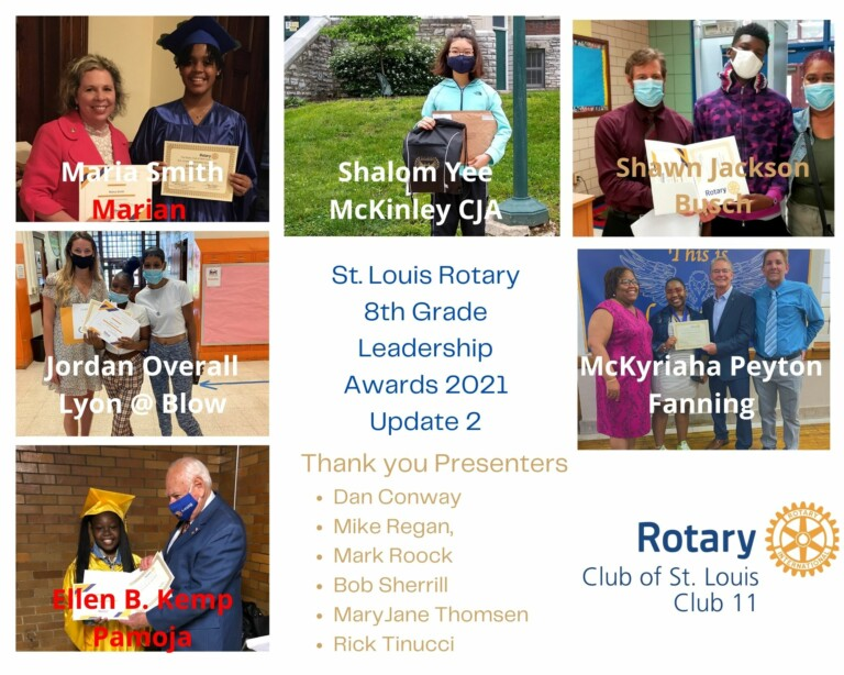update 2 8th grade awards 2021 st louis rotary