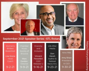 September 2021 Programs at St. Louis Rotary