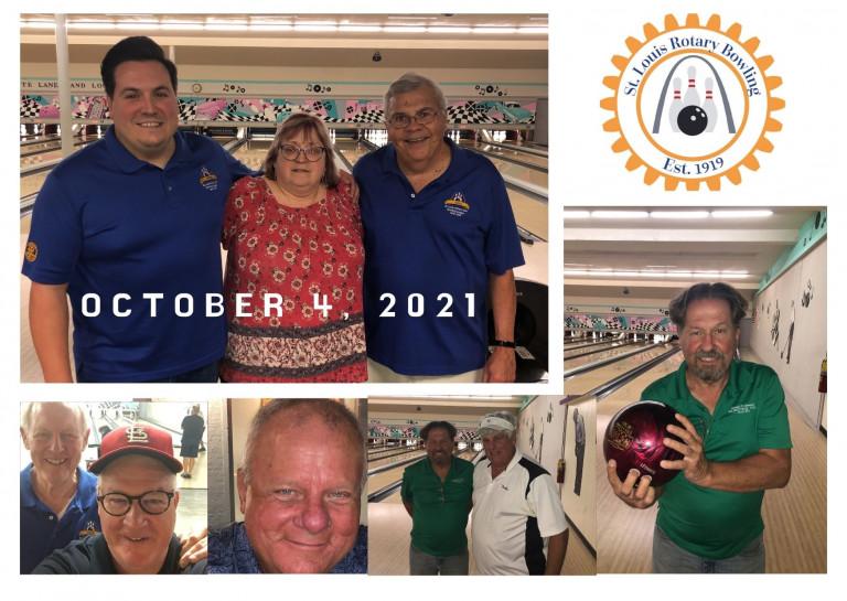 Week 4 10-4-21 St. Louis Rotary Bowling League
