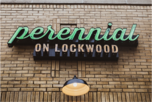 Our next club social is at Perennial on Lockwood on October 28, 2021