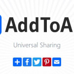 Add to Any Universal Sharing